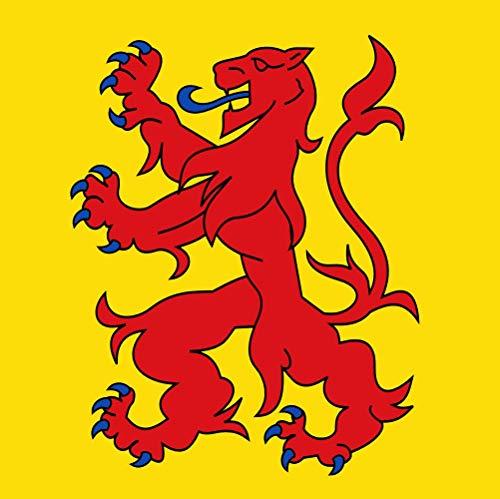 magFlags Drapeau Large Bergen NH vlag | Bergen NH | 1.35m² | 120x120cm