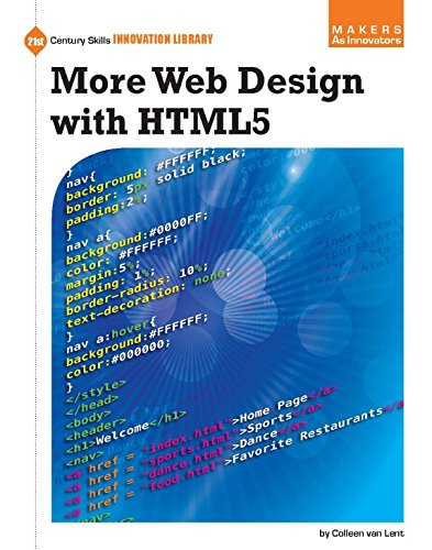 More Web Design with HTML5 (21st Century Skills Innovation Library: Makers as Innovators) (English Edition)