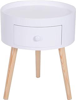 Amazon Fr Table De Chevet Style Scandinave