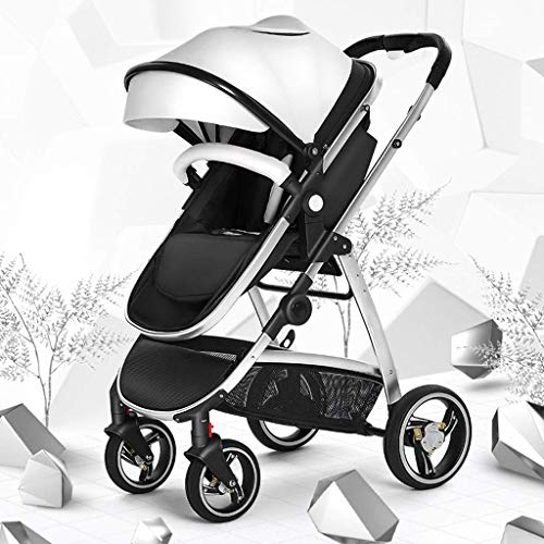 Learn More About Lightweight Baby Stroller Foldable Anti-Shock High View Carriage Infant Pram with S...