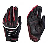 Sparco 002094NRRS08 Guantes, Negro/rojo