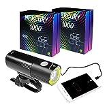 Mr Bike Lights™ | Bike Lights | Super Bright USB Rechargeable Bike Light | IPX6 Waterproof Mountain Road Bicycle Lights | Safety | Easy Mount Cycle Light | Front Bike Light | LED 1000 Lumen
