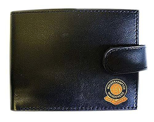 Wolverhampton Wanderers Football Club Genuine Leather Wallet