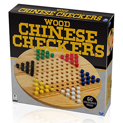 Cardinal Industries Wood Chinese Checkers Game