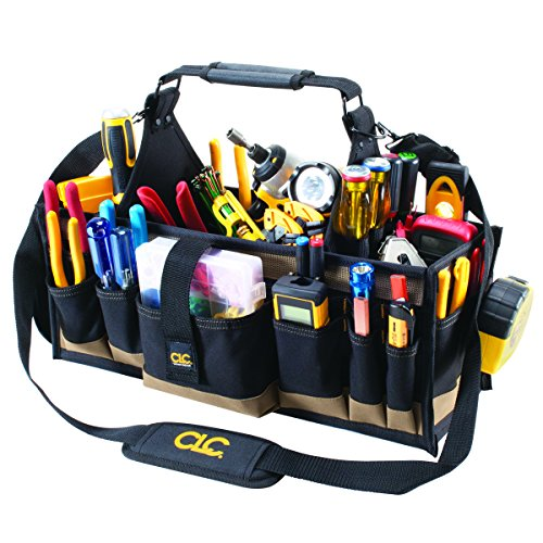 Custom Leathercraft CLC 1530 43-Pocket Electrical and Maintenance Tool Carrier,Black