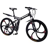 Max4out Mountain Bike 21 Speed 26 inches Shining SYS Double Disc Brake Suspension Fork Rear...