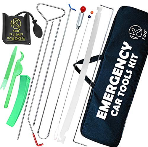 KDO Easy Car Tools Kit with Air Pump Bag and Professional Emergency Tools