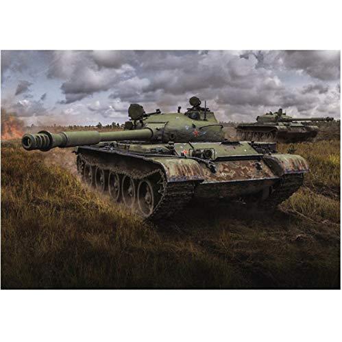 Zhuangzi World of Tanks HD Game Posters Sin Marco Pintura en Lienzo Decoración Sala de Estar Dormitorio Bar Inicio Arte de la Pared Decoración del Cartel 40x50cm L1159