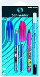 Schneider - Set stilografica, penna e cancellino Zippi