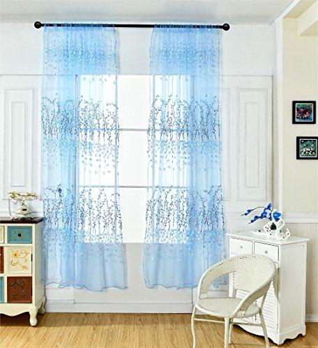 aicessess Vorhänge, Angel-Tasche Voile Tür Fenster für das...