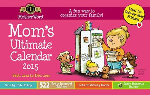 Motherword Magnetic Family Org Calendar (2015)