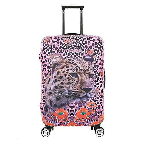 ZIXERN Cubiertas Maleta 18-32 Pulgadas 3D Animal Print Travel Luggage Cover Protector de Maleta elástica a Prueba de Lluvia for Viajes Accesorios de Viaje (Color : C, Size : XL(29''-32'))