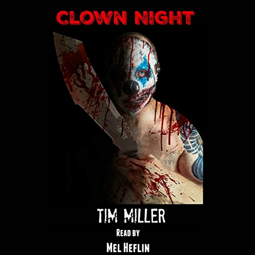 Clown Night audiobook cover art
