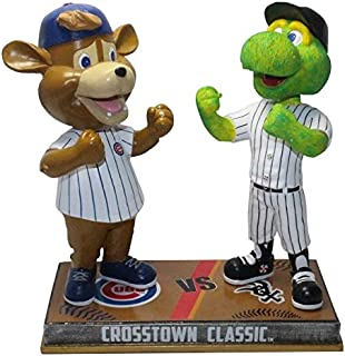 FOCO Chicago Cubs and Chicago White Sox - Clark and Southpaw Rivalry Special Edition Bobblehead