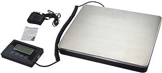 lqgpsx 180 kg/100g Básculas Digitales para Paquetes de envío Pesado Básculas de pesaje Multiusos Básculas de Equipaje de Plataforma de pesaje de Acero Inoxidable Grandes