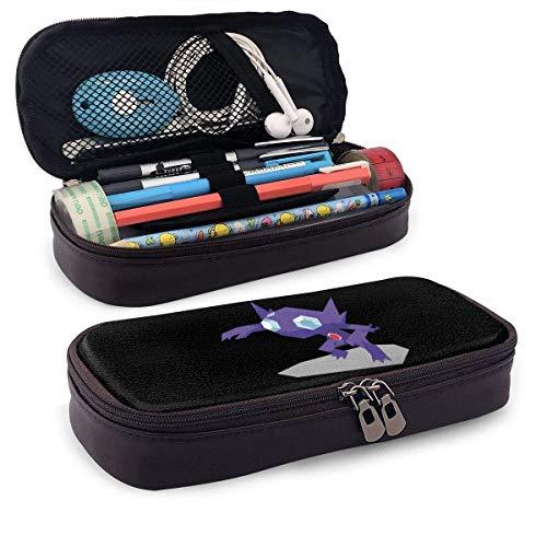 New Style Sableye Multifunktions-Leinwand Leder Bleistiftetui Stifttasche Make-up-Tasche