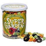 Supergarden mezcla de vegetales liofilizados - Snack saludable - Producto 100% puro y natural - Apto...