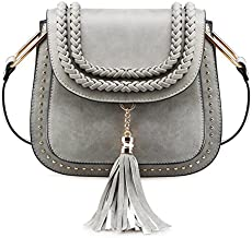 Tom Clovers Crossbody Bags for Women Shoulder Bag Vintage Tassel Saddle Sling Bag Shopping Travel Satchel