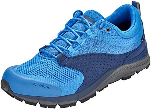 VAUDE Men's TRK Lavik STX, Chaussures de Randonnée Basses Homme, Bleu (Fjord Blue), 43 EU
