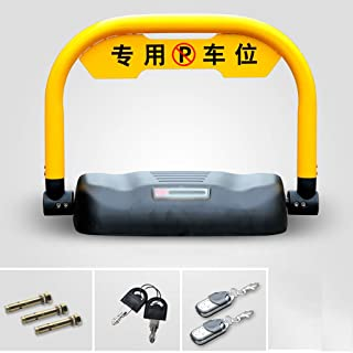MORN Parking Barrier Parking Lock with 20M Remote Controller, Electronic Private Parking Space Lock, Automatic Barrier Alarmed Carport Tool