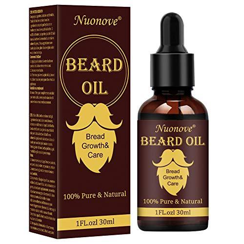 Aceite de Barba, Aceite Acondicionador para Hombres, Aceite Para Barba, Beard Oil, Aceite De Barba Natural, Ideal para El Crecimiento de La Barba, Suavizar, Hidratar, Fortalecer 30ml