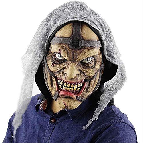 PMWLKJ Máscara de payaso de terror de Halloween Fiesta de maquillaje Máscara...