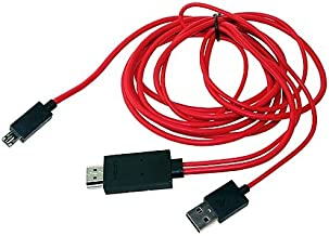 SLLEA 6FT MHL USB 1080P HDMI HDTV AV TV Cable Adapter for Samsung Galaxy Note 10.1 2014 ED