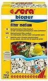 Sera 08420 biopur 750 g, un Medio filtrante biomecánico para bacterias Que aman el oxígeno.