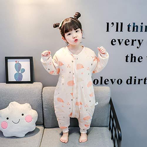 QFYD FDEYL Epaisse Mignon Douce Couverture,Couette en Coton pour Enfants-Little Hedgehog Coloured Cotton_90 Yards 1-2 Ans, Sac de Couchage pour bébés 0-2 Ans, Hiver