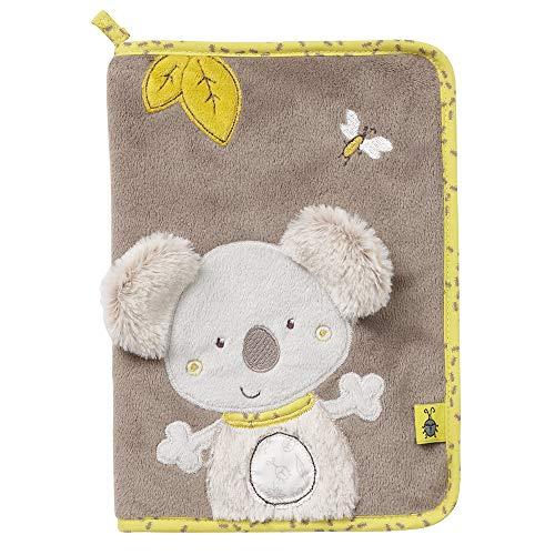 FEHN 064537 Protège-cahier Koala pour carnet de maternité, carnet de santé, carnet de vaccination, carte d'assurance – Rangez et protège les documents importants pour maman et bébé