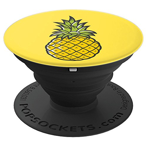Pineapple Retro Cartoon Phone Accessory Party Supply Gift - PopSockets Grip and Stand for Phones and Tablets