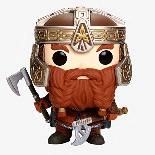 Funko Pop Movies : The Lord of The Rings - Gimli 3.75inch Vinyl Gift for Fantasy Movie Fans SuperCollection