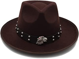 HongJie Hou Women Men Wool Vintage Gangster Felt Fedora Hat With curled Brim Gentleman Elegant Lady Winter Autumn Jazz Caps