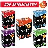 Glop 500 Spielkarten - Trinkspiel - Partyspiel - Kartenspiel -