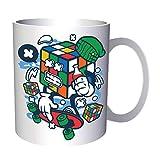 Rubik Cube Skater Cartoon Character 330 ml taza gg704