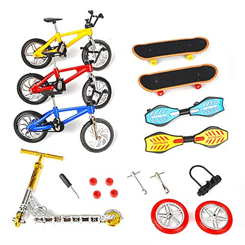 Finger Skate,Mini Skate,Skate Park Kit Finger Toys Set con parques de rampas para Finger Deportes