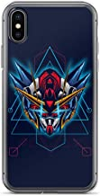 iPhone 7/8 Case Anti-Scratch Motion Picture Transparent Cases Cover This is Illustration Gundam Tryon Sacred Geometry Tshi Action Movies Video Film Crystal Clear
