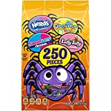 Assorted Halloween Candy Variety Bag, Nerds, SweeTARTS, Gobstopper and Laffy Taffy, 68.9 Ounce, 250 Pieces