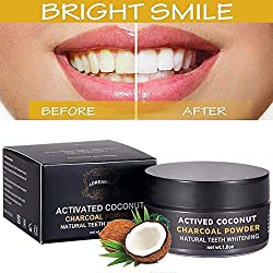 dental duty natural teeth whitening charcoal powder