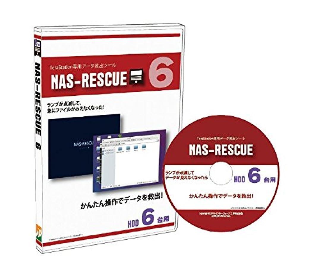 リストと闘う大気TeraStation専用 データ救出ツール NAS-RESCUE HDD6台用