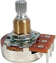 Bourns Set of Four (4X) 500K SHORT Split Shaft Audio Taper Low Friction Potentiometers
