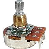 Set of Four (4X) Bourns 500K Short Split Shaft Audio Taper Low Friction Potentiometers