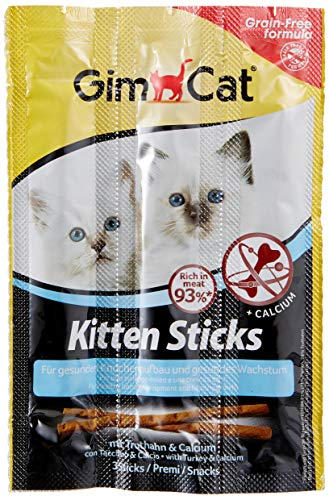 gimcat Kitten Sticks con truthahn and Calcio