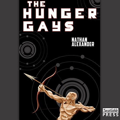 The Hunger Gays audiobook cover art