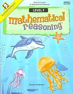 Mathematical Reasoning, Level F, Grade 5