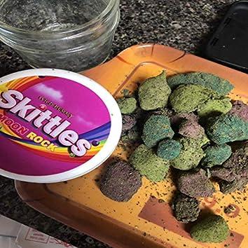 Skittles Moon Rock