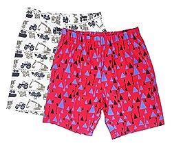 Sangsi Enterprises Boys Printed Cotton Shorts