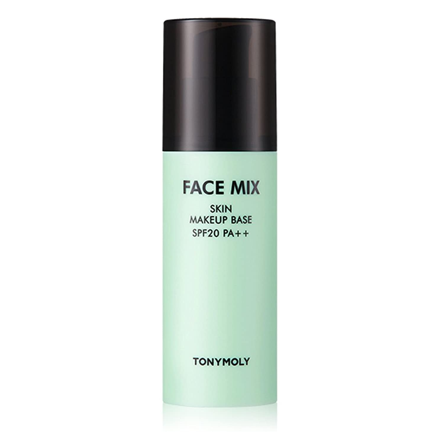 自分の番号ファンシーTONYMOLY FACE MIX SKIN MAKEUP BASE 01 MIX GREEN SPF20 PA+++ 30g