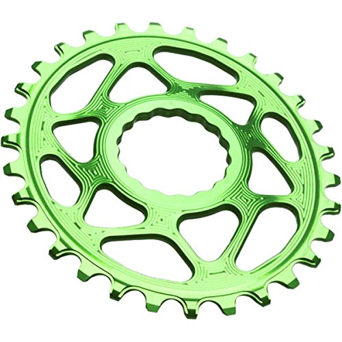 absoluteBLACK Ovales Kettenblatt Spiderless Boost148 für Race Face Cinch Froggy Green Ausführung 28T 2020 Kettenblätter