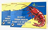 Uncooked Prawn Flavor Chip 8 oz Pack of 2 By KC Commerce